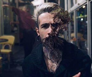 art, grunge, and man image