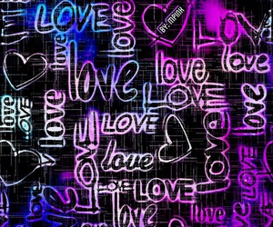 awesome, grunge, and neon image
