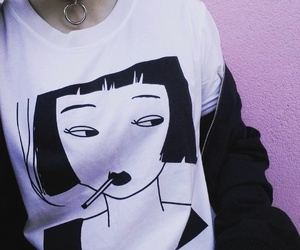 clothes, black, and shirt image