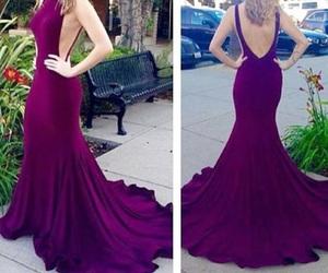 beautiful, dress, and long image