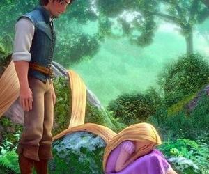 cartoon, princess, and crying image