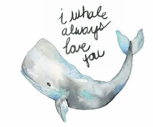 quotes and whale image
