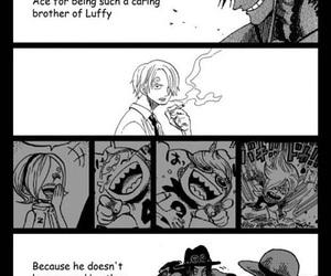 ace, luffy, and sanji image