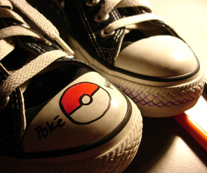 converse, shoes, and pokemon image