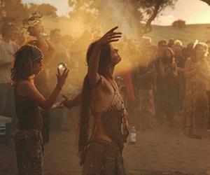 hippie, goa, and music image
