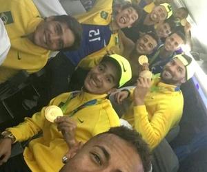 neymar jr, brasil, and football image