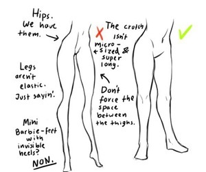drawing and legs image