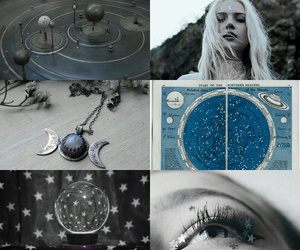 witch, blue, and magic image