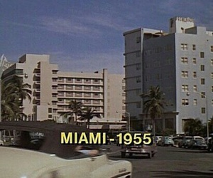 Miami, vintage, and 1955 image