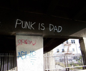 punk, grunge, and dad image