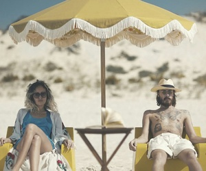beach, couple, and ben howard image