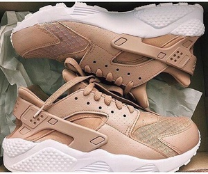 shoes, nike, and brown image