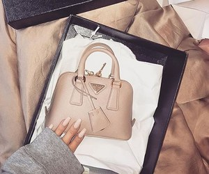 fashion, nails, and Prada image