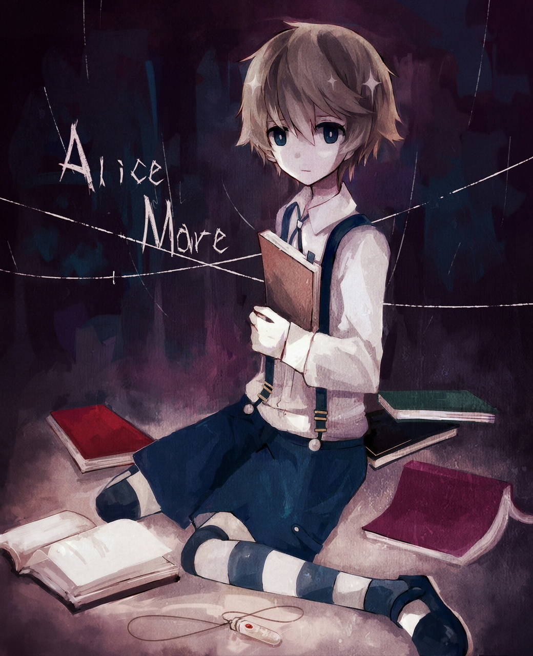 anime, anime boy, and alice mare image