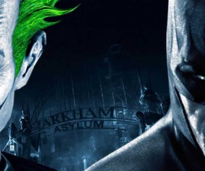 Arkham Asylum, batman, and DC image