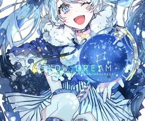 miku hatsune, kawai, and miku image