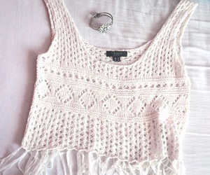 crochet, fashion, and summer image