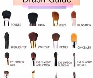 blush, eye liner, and highlighter image