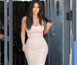 dress, kim, and kim kardashian image