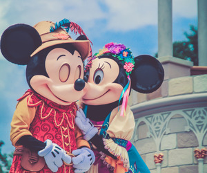 disney, mickey mouse, and love image