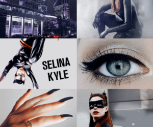 aesthetic, gotham sirens, and black image