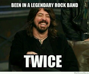 foo fighters, nirvana, and dave grohl image