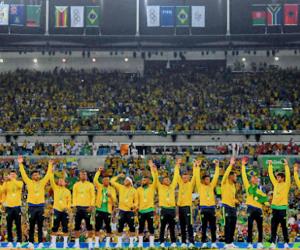 brasil, futebol, and gold image