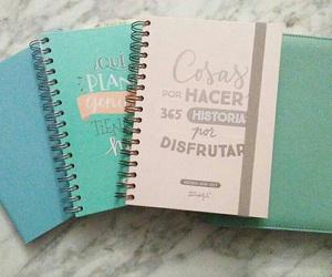 agenda, escuela, and libretas image