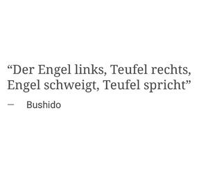 bushido and zitat image