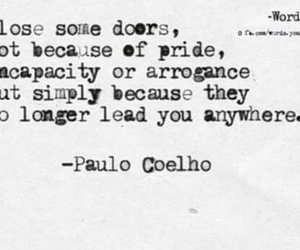let it go, paulo coelho, and deep quotes image
