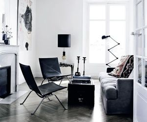 home and black image
