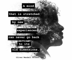 quote, mind, and experience image