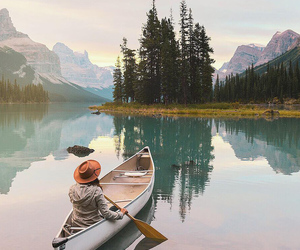 nature, lake, and travel image