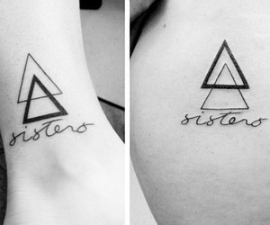 sisters, tattoo, and tumblr image