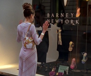 Carrie Bradshaw, sex and the city, and new york image