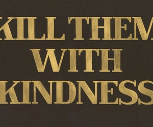 kindness, quotes, and kill image