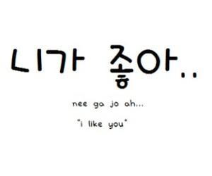 korea, love, and hangul image