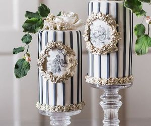 beautiful, victorian, and cake image