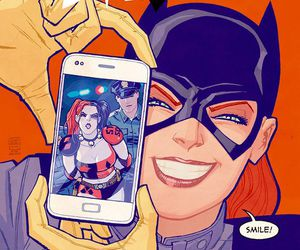batgirl, harley quinn, and DC image