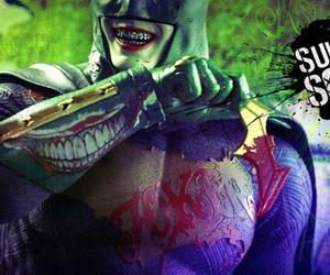 suicide squad, batman, and joker image