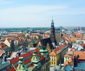 buildings, Poland, and city image
