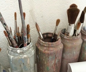 art, aesthetic, and paint image