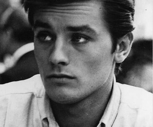 Alain Delon and boy image