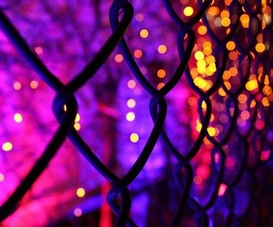 light, purple, and neon image