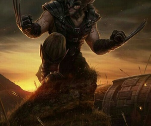 Marvel, wolverine, and game of thrones image