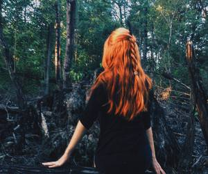 ginger, nature, and redhair image