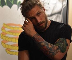 tattoo, man, and boy image