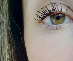 beautiful, brown hair, and eye image