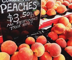 peach, indie, and orange image
