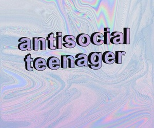 90's, anti, and antisocial image